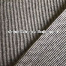100% cotton combed 1x1 loop-transferring rib knit textile fabric