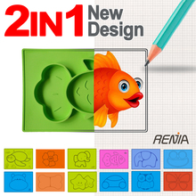 RENJIA custom silicone kids placemat baby suction bowl feeding mat silicon place mats