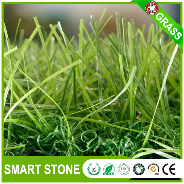 Realistic fake grass mat for outdoor kids play lime green plastic lawn grass