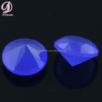 top quality machine cut polished blue charm gems factory price