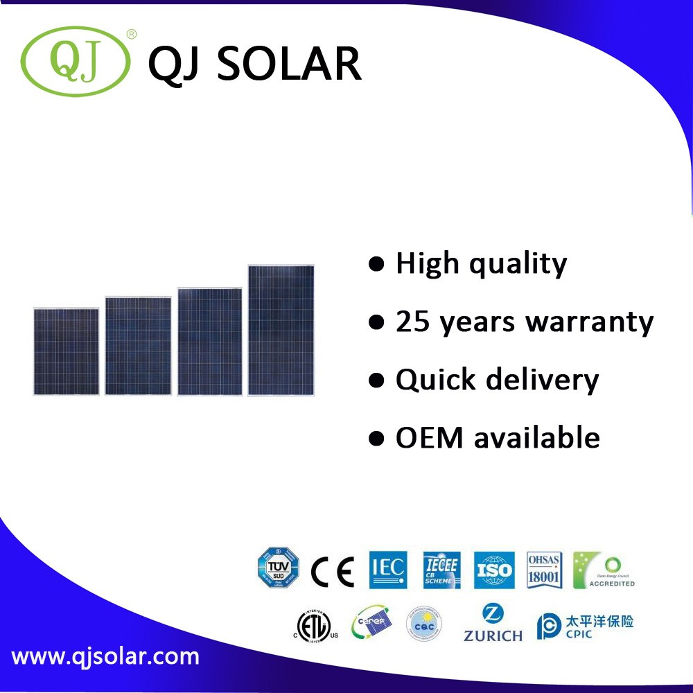 China Suppiler High Efficiency 250 Watts Polycrystalline Solar Module
