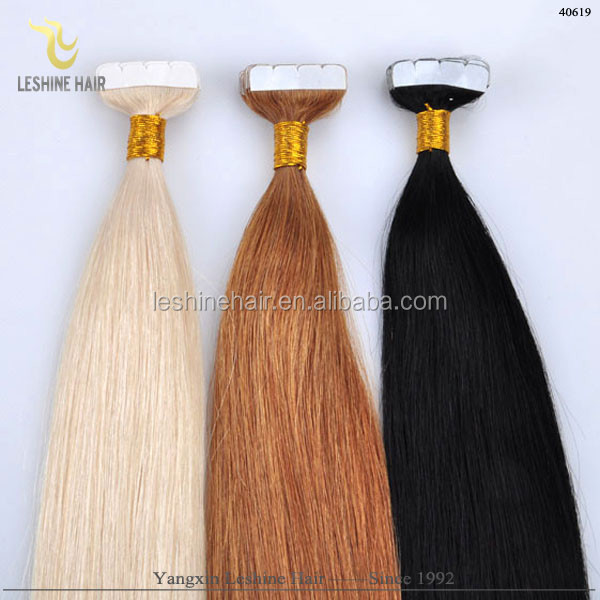 China Hair Manufacturer Good Feedback Long Lasting Remy Soft Free Tangle Free Shedding best quality replacement tape hair