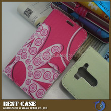 wholesale molile phone case wallet leather flip cover case for lg g3 beat