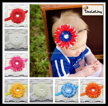 Chrysanthemum Infant Elastic Headband,Baby Hair Accessory TLLC-62