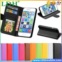 Luxury Leather Case For Apple iphone 4 4S 4G Wallet Stand Card Holder With Photo Frame Cover Cell Phone Bags Sleeve 4S