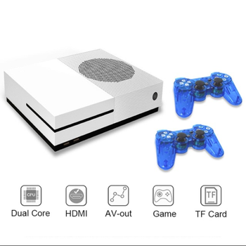 RS-89 TV Retro Video Game Console 4GB Built-in 600 classic game support output TF Card and dual gamepad