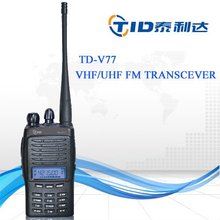 TD-V77 scramble fuction VOX radio walkie talkie with bright flashlight illumination