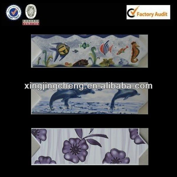fish wall tile ceramic border designs
