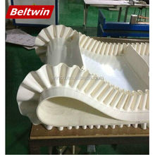 Beltwin White PU Food Grade Habasit Conveyor Belt Specification with guide