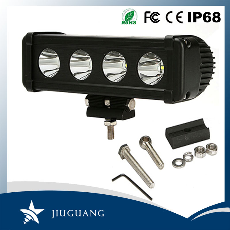 hot sale high power single row 8 inch 40w offroad auto led light bar car 12 volt