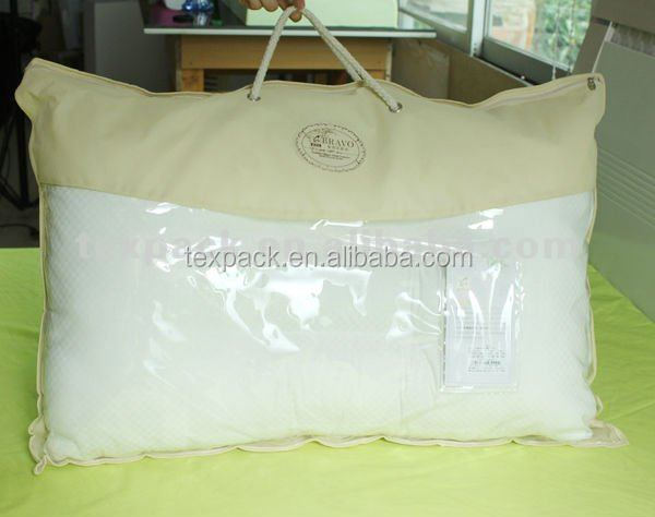 Wholesale cheap screen printing pillow case plastic packaging