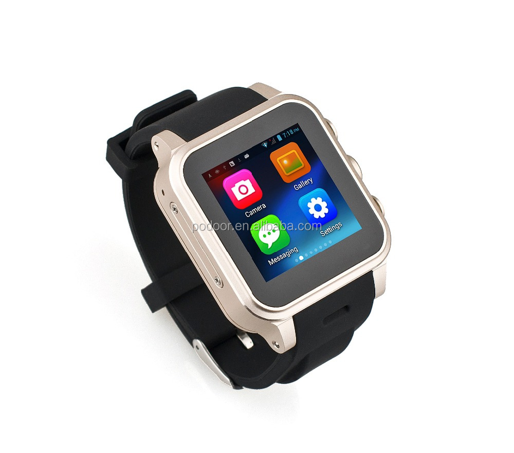 2016 new products Smart Watch Mobile Phone Android Unlocked Cellphone Watch with SIM Card Slot