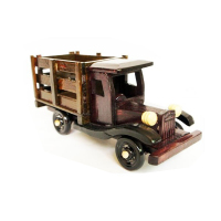2018 antique wooden toys,wooden craft truck, craft wooden truck