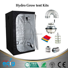High reflective jardin silver mylar lined greenhouse grow tent