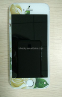 Full screen covered color Bling Diamond screen protector for sony xperia v
