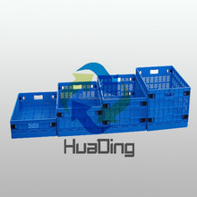 Hot sale collapsible fruit and vegetable storage and distribution plastic crate