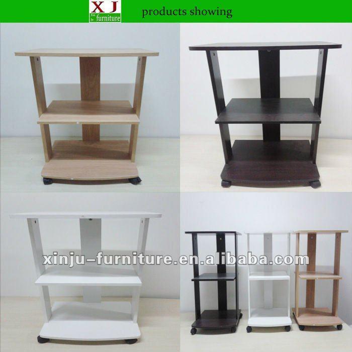 Unidad de pared living modernos muebles muebles madera for Basicos muebles contemporaneos