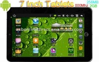 Giant 7 inch Tablet 16:9 Google Android 2.2 Tablet PC 8650 WIFI 3G MID