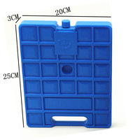 FDA Approved 1000ml Plastic Cooler Box for Vaccine, Beer, Food Cooling, Fishing, Ice Pack Cooler For Cold Storage