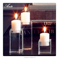 Crystal Candle Holder K9 Glass Crystal Votive Holders Set of 3