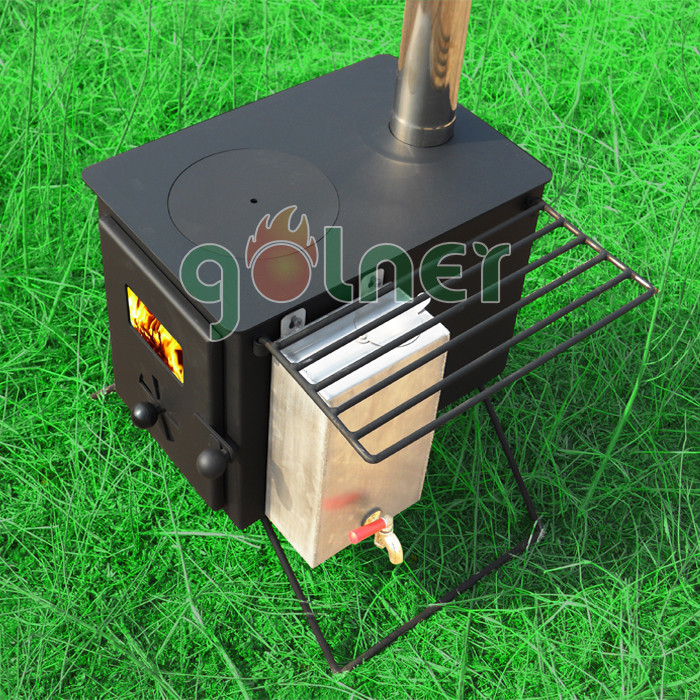C 11 outdoor cooking stove tent warm stove camping stove for Outdoor wood cooking stove