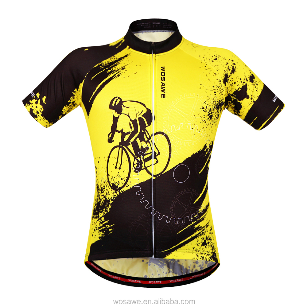 OEM Cycling clothing 2017 new pro teams custom sublimation men unique road cycling jersey uniforms sets china cheap wholesale