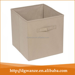 home decorative nonwoven storage box /fabric storage box /cube fabric storage box