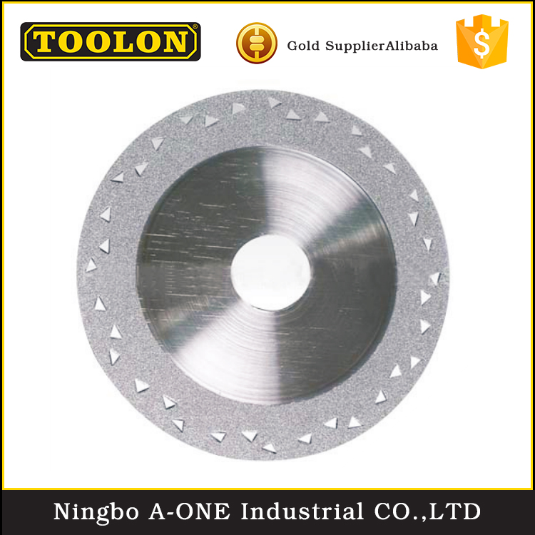 China Alibaba Electroplated Diamond Saw Blade Marble Cutting Disc