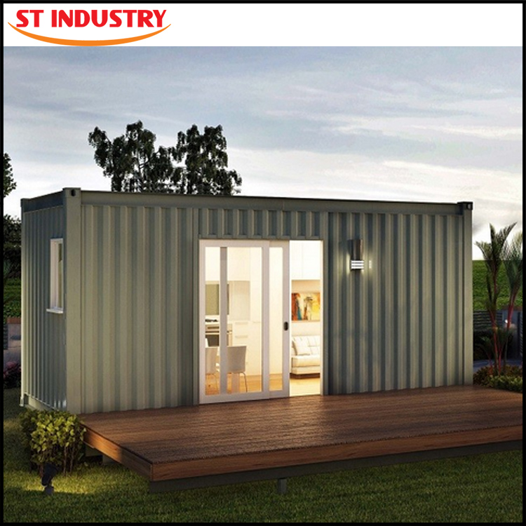 2016 indonesia newest style movable finished container house