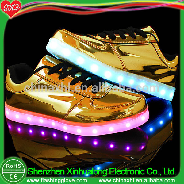 Hot sale shoes with lights sport shoes led shoes manufacturer China