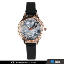 fancy crystal dail ladies fashion watches latest