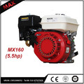 5.5hp Small 1Cylinder Manual Gasoline 168f Engine For Compressors Provide Power