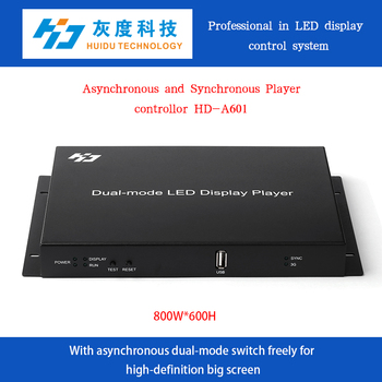 HD-A601 Rental stage led display Indoor advertising board controller