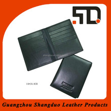 Wholesale Price Quality Genuine Leather Passport Wallet Case