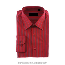 Custom made dress shirt cotton slim fit latest formal shirt designs for men
