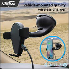 Christmas New Car Wireless Charging Electric Car Charge Station 10W Fast Wireless Car Charger