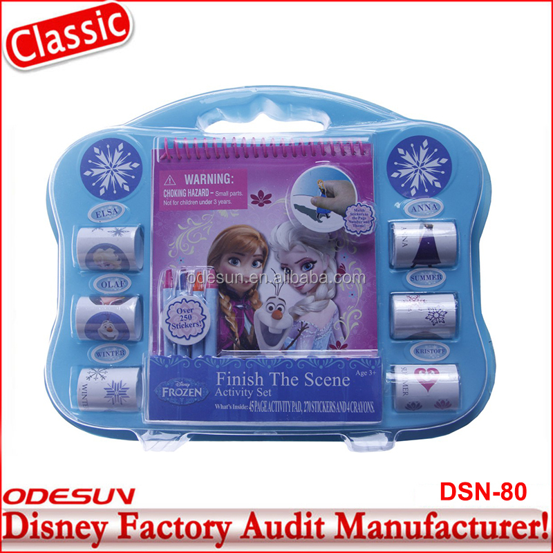 Disney Universal BSCI Carrefour Factory Audit Kungfu Panada Frozen Advertisement Cheap Items For Sale Stationery Set