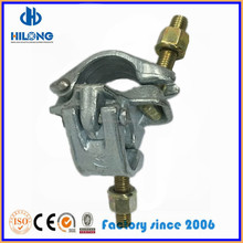 Germany Type Scaffolding Drop Forged Double / Fixed Couplers