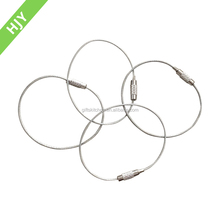 Trade and quality assurance round wire snap clamp ring