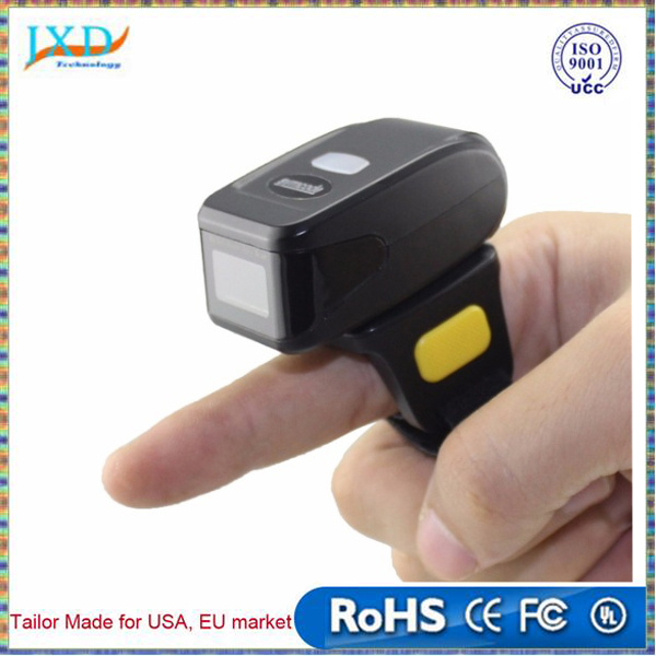 Wearable 2D Barcode Scanner MINI Bluetooth Bar code Reader For Andriod/IOS