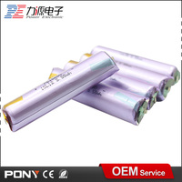 high discharge rechargeable 3.7v 1400mah li ion battery 16650