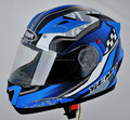 YM-925 ECE stylish double visor flip-up personalized motorcycle helmet
