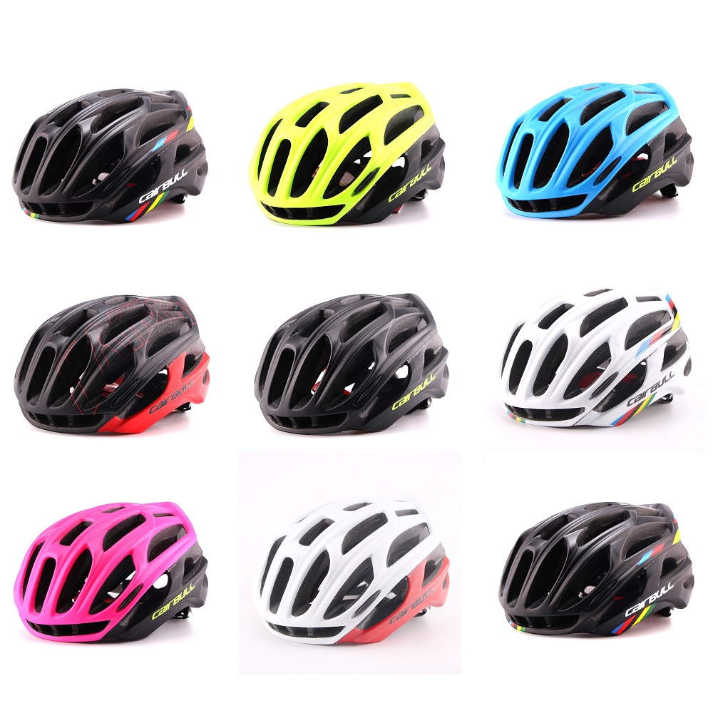CAIRBUL2018 Arrival 4D Construction Super Light 220g OEM Road Bike Helmet In-Mold Bicycle Helmet Cycling Helmet Factory Sale