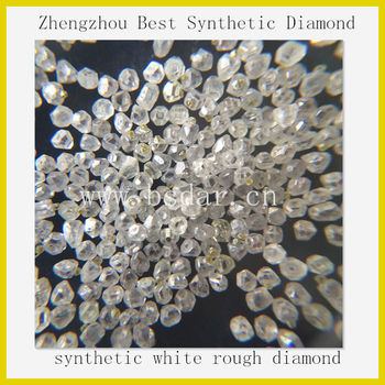Henan Manufacturer! Best synthetic white rough diamond hot sale in india