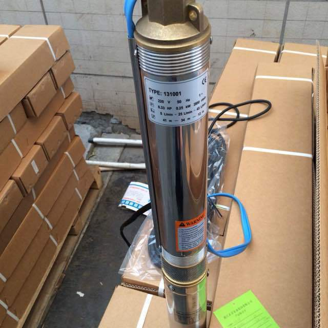 4 inch electric water pump for irrigation borewell submersible pump