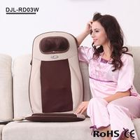 RD03b deep kneading shiatsu massage cushion seat topper