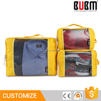 BUBM Colorful Travel Packing Cubes PVC
