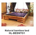 Classic bamboo bed