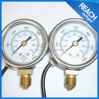 Portable most popular chinese water temperature pressure gauge