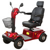 Four wheels electric handicapped mobility scooter with handbrake EML46A